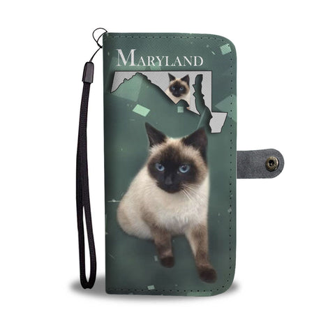 Amazing Balinese Cat Print Wallet Case-Free Shipping-MD State