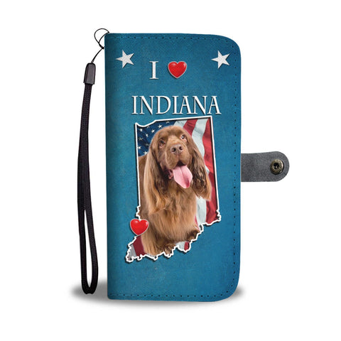 Sussex Spaniel Print Wallet Case-Free Shipping-IN State