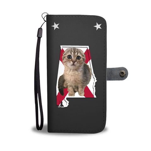 Scottish Fold Cat Print Wallet Case-Free Shipping-AL State