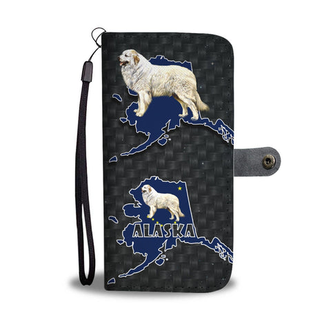 Great Pyrenees Dog Art Print Wallet Case-Free Shipping-AK State