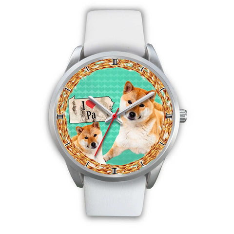 Shiba Inu Dog Pennsylvania Christmas Special Wrist Watch-Free Shipping