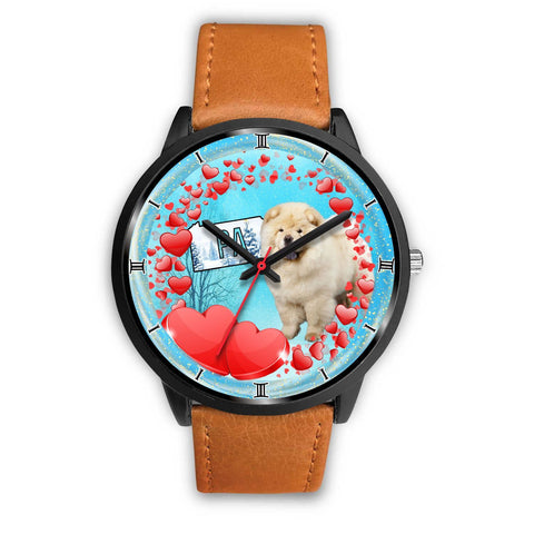 Cute Chow Chow Dog Pennsylvania Christmas Special Wrist Watch-Free Shipping