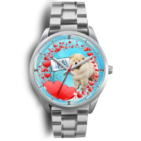 Cheerful Chow Chow Dog Pennsylvania Christmas Special Wrist Watch-Free Shipping