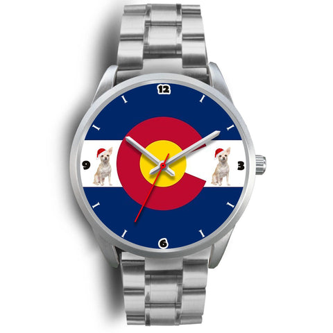 Chihuahua Dog Colorado Christmas Special Wrist Watch-Free Shipping