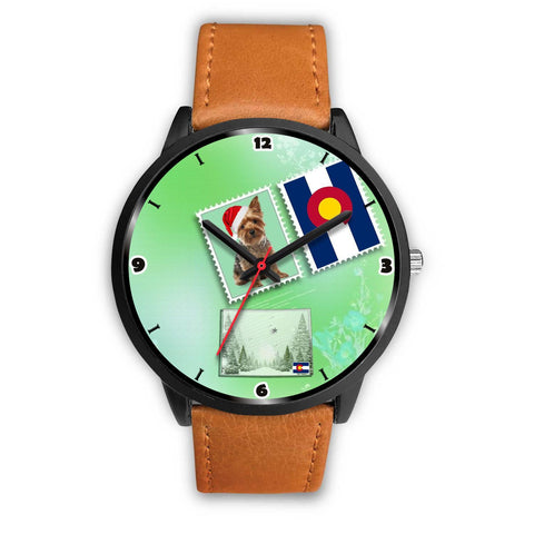 Yorkshire Terrier Colorado Christmas Special Wrist Watch-Free Shipping