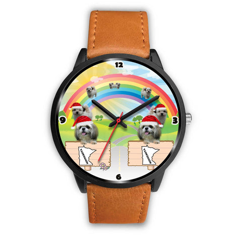 Shih Tzu Dog Minnesota Christmas Special Wrist Watch-Free Shipping