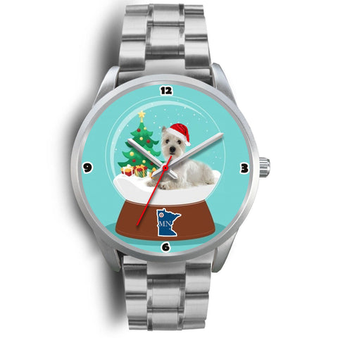West Highland White Terrier Minnesota Christmas Special Wrist Watch-Free Shipping
