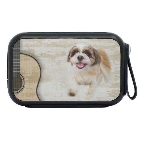 Shih Tzu Dog Print Bluetooth Speaker