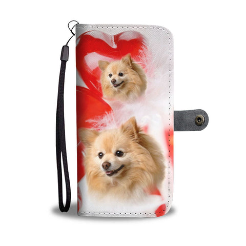 Pomeranian Dog Wallet Case- Free Shipping