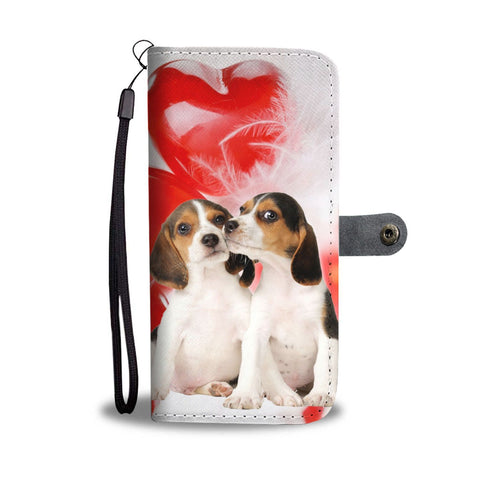 Beagle Dog Wallet Case- Free Shipping