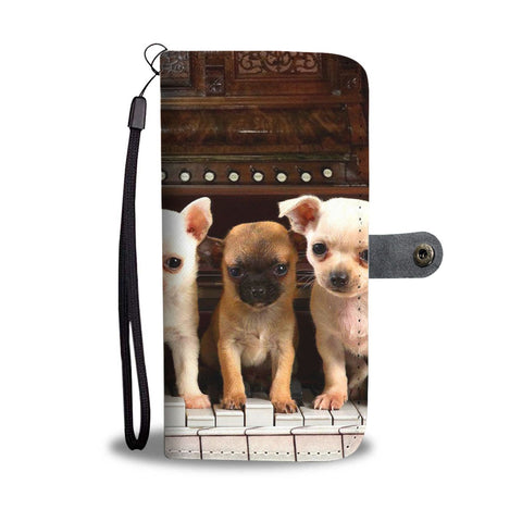 Chihuahua Puppies Print Wallet Case- Free Shipping