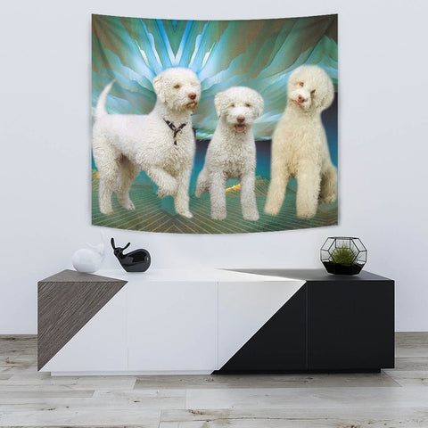 Lagotto Romagnolo Dog Print Tapestry-Free Shipping