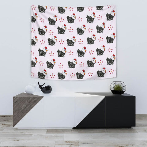 Cute Birds Print Tapestry-Free Shipping