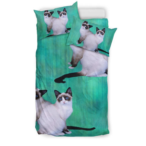 Lovely Snowshoe Cat Print Bedding Set-Free Shipping