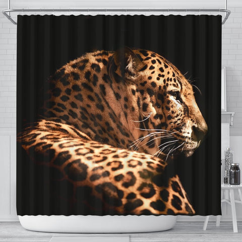 Amazing Leopard Print Shower Curtains-Free Shipping