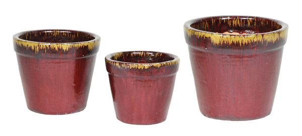 Glorious Planter Oxblood S3 D24/35H21/30