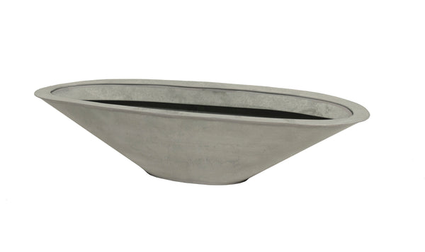 Zinc Old Look Boat Oval L53W18H13