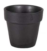 Grace Basic Pot Matt Black D25H25