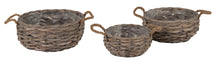 Bobs Bush Basket Bowl Grey S3 D20/30H10/13