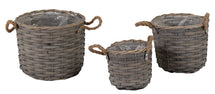 Bobs Chip Basket Pot Grey S3 D16/25H14/20