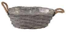 Bobs Chip Basket Oval Grey L30W22H11