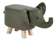 Animal Stool Elephant Dark Green L50W28H24