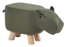 Animal Stool Cow Dark Green L50W28H24
