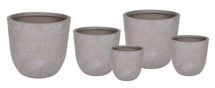 Utah Egg Pot Taupe Wash S5 D25/55H25/51