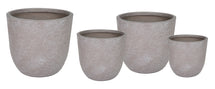 Utah Egg Pot Taupe Wash S4 D25/45H25/43