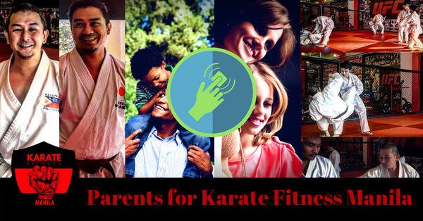 Parents for Karate Fitness Manila