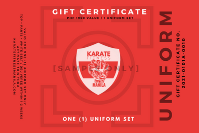 GIFT CERTIFICATE - UNIFORM
