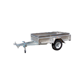 Trailer Alloy- (WT-3) Box Trailer - CBC Alloy Boxes & Canopies