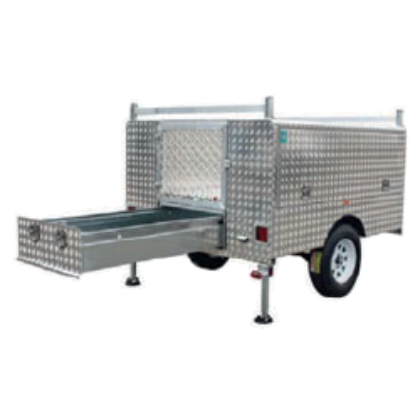 Trailer Alloy- (WT-UTE-D) Tool Box Sections and drawer