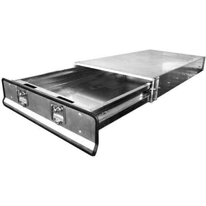 Ute Tray-Tray Deck with Headboard (Extra Cab) - CBC Alloy Boxes & Canopies