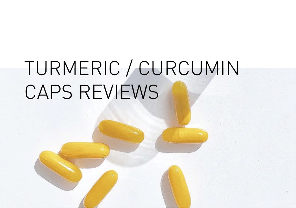 Turmeric / Curcumin Capsule Reviews