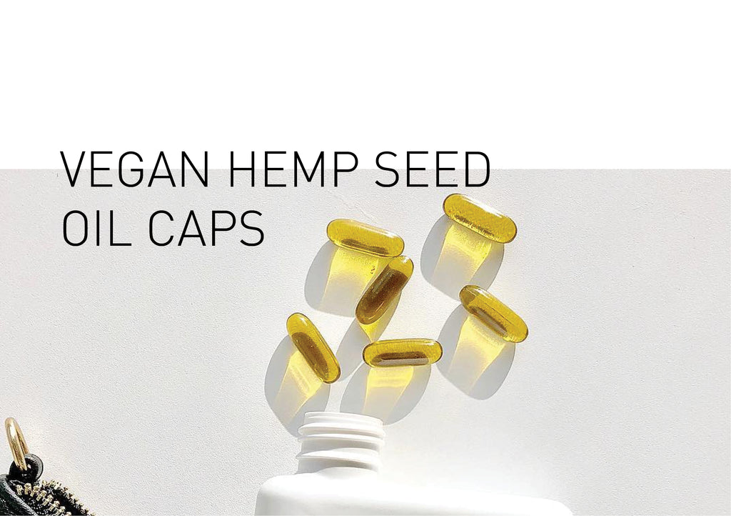 Make Tonik's vegan & organic Hemp Seed Oil Capsules high on your shopping list