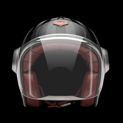 Ruby Motorcycle Helmet Belvedere Ginza Size M