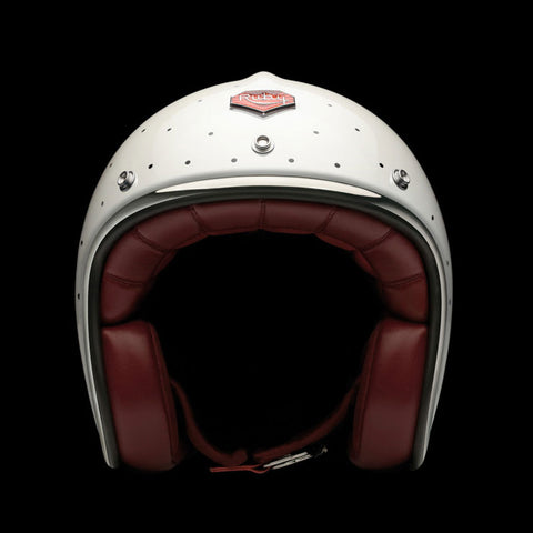 Ruby Motorcycle Helmet Pavillon Odeon Size 2XL