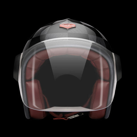 Ruby Motorcycle Helmet Belvedere Magny-Cours Size L