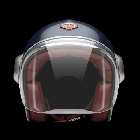 Ruby Motorcycle Helmet Belvedere St Augustin Size M
