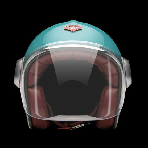 Ruby Motorcycle Helmet Belvedere Molitor Size M