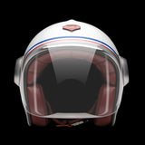 Ruby Motorcycle Helmet Belvedere Republique Size M