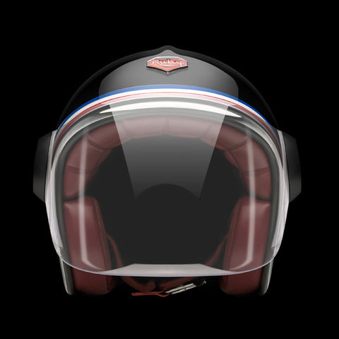 Ruby Motorcycle Helmet Belvedere Revolution Size XL