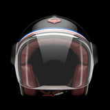 Ruby Motorcycle Helmet Belvedere Revolution Size 2XL