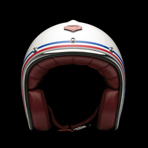 Ruby Motorcycle Helmet Pavillon Republique Size M