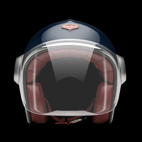 Ruby Motorcycle Helmet Belvedere Francs Bourgeois XL