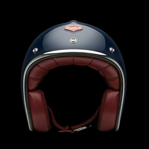 Ruby Motorcycle Helmet Pavillon Francs Bourgeois Size M