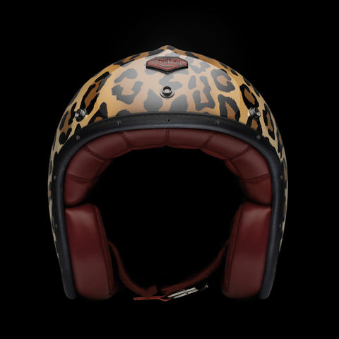 Ruby Motorcycle Helmet Pavillon Barbes Size L