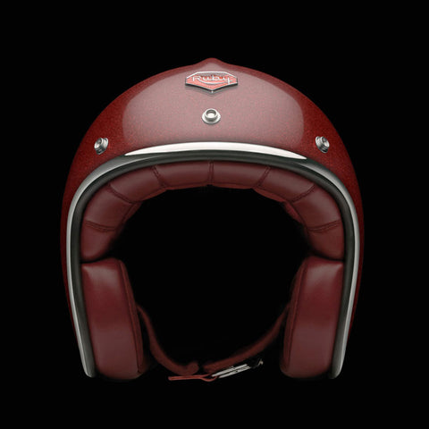 Ruby Motorcycle Helmet Pavillon Pigalle Size L