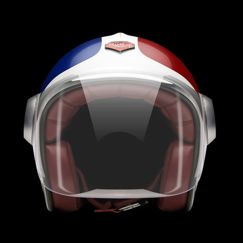 Ruby Motorcycle Helmet Belvedere France Size L